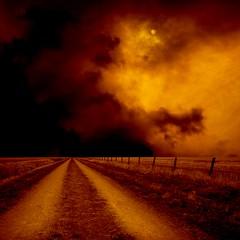 Endless Road (Olli Keklinen) Tags: road moon field clouds photoshop dark square landscape nikon scenery 100v10f d200 vanishing 2008 goldenglobe firstquality abigfave ok6 superbmasterpiece infinestyle gwain ollik betterthangood impressivemood theperfectphotographer 20080428 100commentgroup colorfullaward