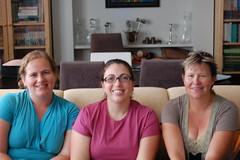 Martine, Kim & Chrissy