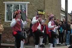 Moulton Festival 08 164 (King John's Morris Men) Tags: men castle westminster rose festival long king village dancing sword morris 2008 rapper johns dace moulton saddleworth southprt