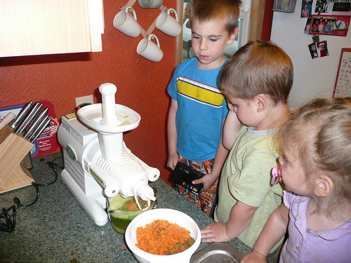 They are really impressed with the new juicer