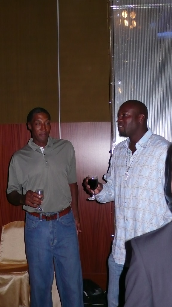 Scottie Pippen & Glen Rice