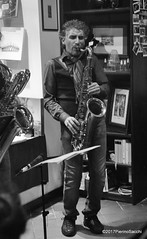 N2122860 (pierino sacchi) Tags: kammerspiel brunocerutti feliceclemente igorpoletti improvvisata jazz letture libreriacardano musica sassofono sax stranoduo