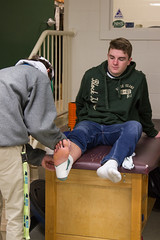 Sports Med-2-11 (New Hampton School) Tags: adamtyson athletictraining sportsmedicine