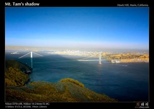 Mt. Tam's shadow