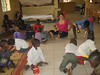 Some of the boys playing at CURE Hospital of Niger