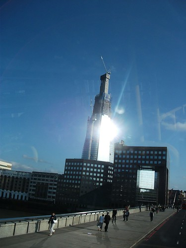 Shard from 21 bus