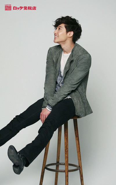 Kim Hyun Joong Lotte Duty Free Photoshoot (Japan)