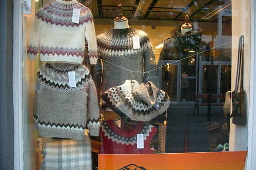 Icelandic sweaters and cowls