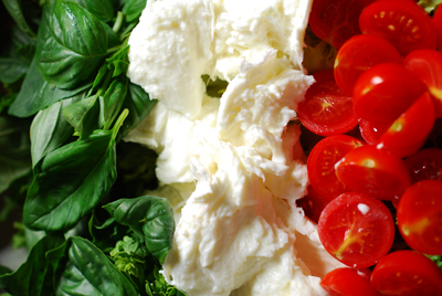 deconstructed caprese salad© by haalo