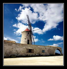 The Salt Mill (DHJ.V) Tags: blue sky italy mill clouds italia salt sicily sicilia trapani dhjv 25faves abigfave aplusphoto favemegroup3 superhearts thegardenofzen thegoldendreams