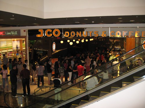 JCO donut shop in Pavilion shopping centre, Jalan Bukit Bintang