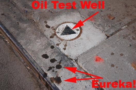 Found Oil