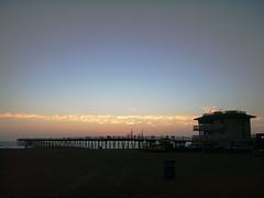 AUGUST SUNSET 2 (warner444) Tags: sunset beach pier hermosabeach