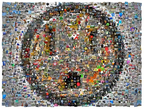 Group Mosaic: Faces in Places