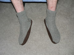 "2005-12-30 Michael's slipper socks 002 • <a style=""font-size:0.8em;"" href=""http://www.flickr.com/photos/20166766@N06/1974807085/"" target=""_blank"">View on Flickr</a>"