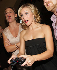 Kristen Bell at the Maxim party for Assassin's Creed
