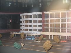Building model (jackonflickr) Tags: cinema bus tree scale car movie thailand model theater display theatre bangkok thai rama thep krungthep krung