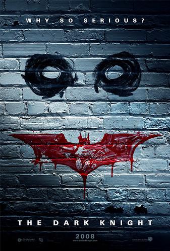 Teaser poster de 'The Dark Knight', el regreso del Joker