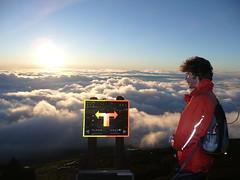 Choose Wisely (ianmcburnie) Tags: sky sun mountain me japan clouds fuji mountfuji directions signpost ianmcburnie