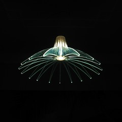 Agave lamp (Anna Bigatti) Tags: blue light abstract lamp agave transparent luceplan