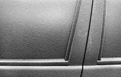 cold snap (swissrolli) Tags: cold film car delete10 35mm frost save2 ilford delta400 blackcountry dmu bigpicture2008