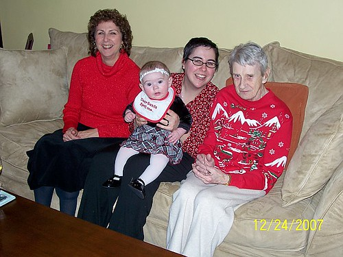 4 generations on the couch