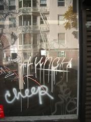Lunch, Leche (microwaveturtle) Tags: lunch graffiti leche tfn