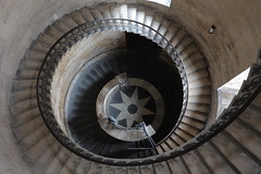 The geometric staircase - from the top (Matthew Field) Tags: uk building london geometric st architecture religious photo cathedral image stock steps pauls staircase wwwmattfieldcom