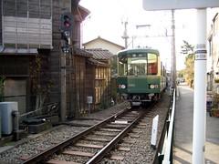 江ノ電(稲村ヶ崎)