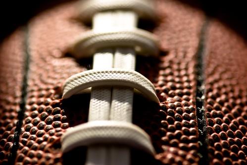 Macro Morning - Football Laces