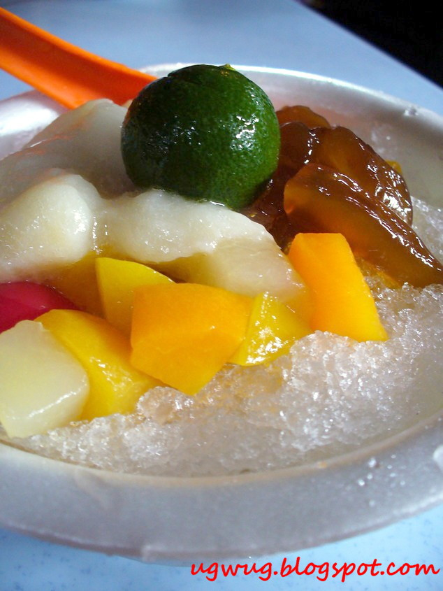 Refrehsing Fruit Ice Dessert