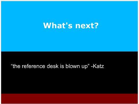katz said it.
