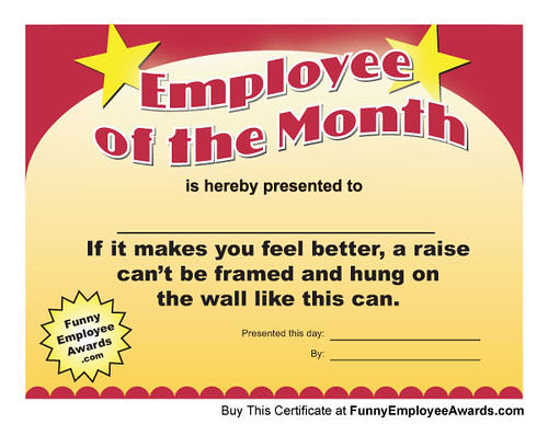 Funny Certificates for