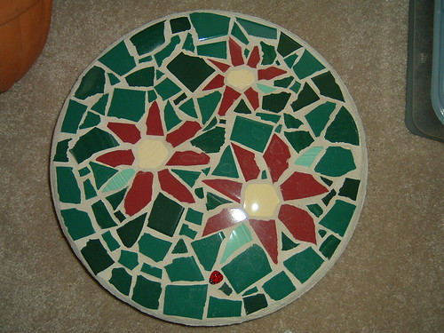 mosaic stepping stone by you.