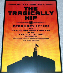 Tragically Hip Poster