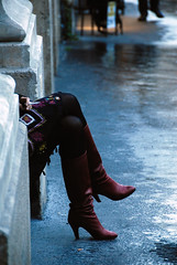 The cigarette break (jmvnoos in Paris) Tags: red paris france rain rouge nikon break boots cigarette pluie smoking 100views 400views 300views 200views 500views d200 nosmoking pause interdiction 800views 600views 700views bottes nonsmoking 1000views fumer 15faves 30faves 50faves 10faves 20faves 40faves views300 interdictiondefumer pausecigarette interditdefumer theunforgettablepictures jmvnoos 10favesext