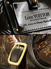 L.V. (Julie™) Tags: brown black love fashion bag gold julie purse buckle lv louisvuitton