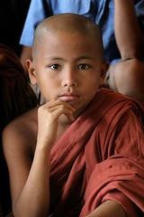 Free Tibet ! (janchan) Tags: portrait kids children asia village retrato burma monk buddhism orphanage monastery myanmar ritratto bangladesh novice marma birmania orfanotrofio diamondclassphotographer flickrdiamond