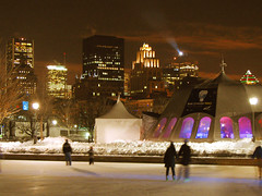 The winter in Montreal (Nino H) Tags: winter light canada ice skyline architecture night buildings montral quebec lumire montreal hiver skating qubec oldmontreal nuit patinoire vieuxmontral goldstaraward