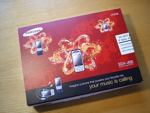 Samsung i450 Box
