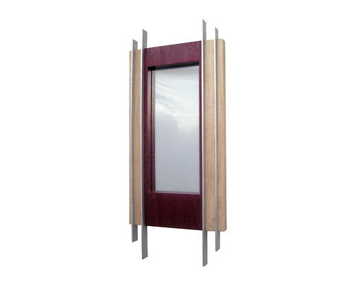 Brazan Design Geometric Wall Mirror