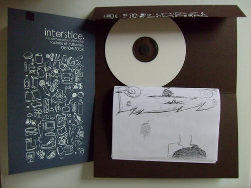 interstices dvd objet