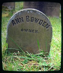 in residence? (annette62) Tags: grave gravestone churchyard owner haworth annebowden
