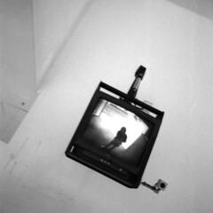 003 (Blacknoise) Tags: street camera portrait urban film home self 35mm photography diy streetphotography delta olympus cctv xa2 400 push analogue xa process developed hc ilford pushprocess ilforddelta ilfotec