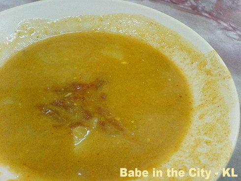 AA - dhall with sambal