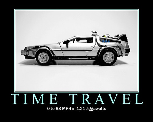 Delorean + Flux Capacitor