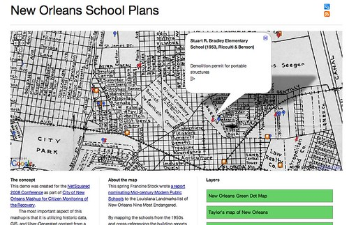 New Orleans School Plans