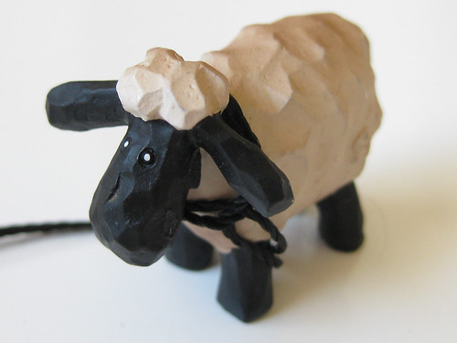 Sheep Ornament from Peaknit