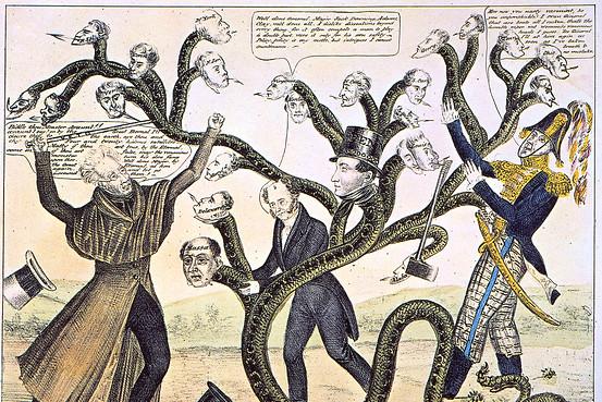 Jackson Destroying Bank of US