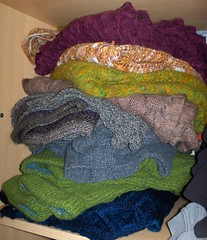 a stack of knits!